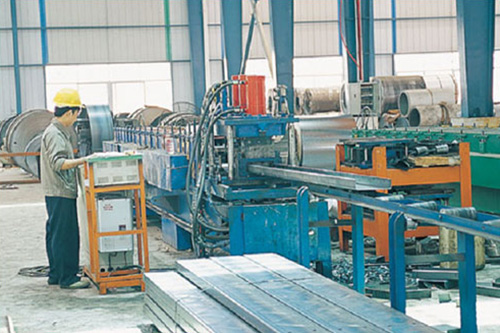 C steel processing equipment
