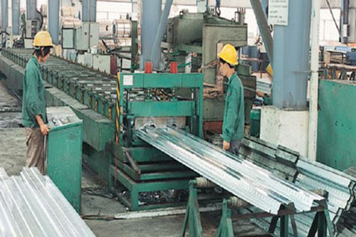 Floor board processing equipment